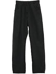 2017 new Women Korean waist was thin loose elastic waist jeans female trousers