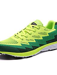 Homme-Extérieure Décontracté Sport-Gris Vert BleuConfort-Chaussures d'Athlétisme-Sergé