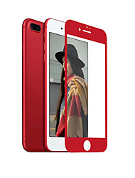 ZXD China Red Soft Edge For iPhone 7 Plus Screen Protector 3D Full Cover Tempered Glass Seamless Covering Anti Glare