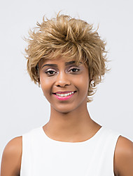 Fluffy Refreshing Prevailing  Short Hair  Synthetic Wig