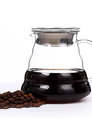 ml  Glass Coffee Maker Set , 3 cups Drip Coffee Maker Reusable