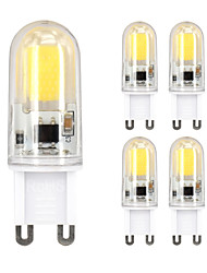5PCS G9 1508 C0B  AC200-240V 5W 850lm Warm White White That Move Light Waterproof Ceramic Lamp