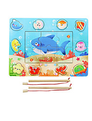 Fishing Toys Model & Building Toy Toys Wood Rainbow For Boys