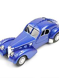 Classic Car Toys Car Toys 1:28 Metal Plastic Blue Model & Building Toy