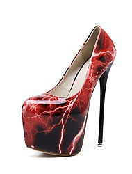 Women's Stiletto Heels/Fashion/New/2017/Club Dress/Sexy/Party & Evening/High Heels/Red/Gold