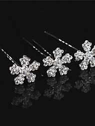 Hot Hair Resin Flower U More Hair Barrette Fine Beautiful Bride Wedding Tiara  6pcs