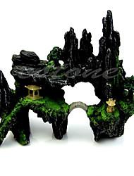 Aquário Decoração Ornamentos Artificial Resina