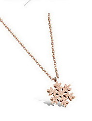 Women's Pendant Necklaces Titanium Steel Star Basic Fashion Gold Jewelry Daily Casual 1pc