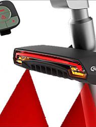 Luz Traseira Para Bicicleta LED Ciclismo Controle Remoto Fácil de Transportar Smart Lumens Vermelho Ciclismo