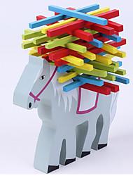 Elephant Camel Balance Beam Toys Leisure Hobby Toys Novelty  Animal Wood Rainbow For Boys For Girls