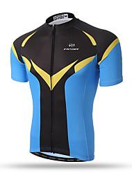 XINTOWN® Men's Summer Short Sleeve Green Mountain Cycling Jersey Road Bike Jersey Novelty Cycling Wear Super Men's