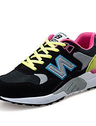 Da donna-Sneakers-Tempo libero Casual Sportivo-pattini delle coppie-Piatto-PU (Poliuretano)-Multicolore