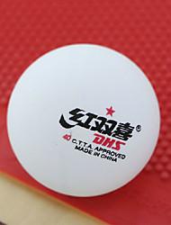 1 шт. 1 звезда 7 Ping Pang/Настольный теннис Бал Белый