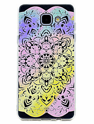 For Samsung Galaxy A3(2017) A5(2017) Rainbow Lace Flower Pattern Soft TPU Material Phone Case A7(2017) A510 A310