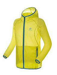 Верхняя часть Рыбалка унисекс Легкие материалы Защита от солнечных лучей Весна Лето Осень Желтый Белый Синий M L XL