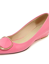 Women's Heels Spring Summer Fall Winter Club Shoes Comfort Patent Leather Office & Career Dress Casual Low Heel OthersBlack Pink White