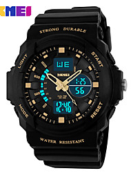 SKMEI Double Time Waterproof Outdoor Climbing High-Grade LED Watch