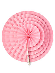 10 inch New Design Paper Fans Party Wedding Birthday Hanging Decoration Shower Crafts Party Wedding Supplies Home Decorations