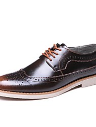 Men's Oxfords/Business Style/2017/Popular/New/Bullock/Office & Career/Casual/Black/Brown/Red