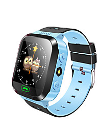 ips 1,44 '' écran tactile montre intelligente enfants tracker GPS sos anti-perdus enfants intelligents bracelet finder sécurité à distance