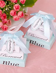 1pcs Something Blue Memo Favors 5 x 5 x 5 cm/pcs Beter Gifts® Recipient Gifts - Bridal Shower Favors