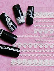 30PCS Adesivos para Manicure Artística Autocolantes de Unhas 3D maquiagem Cosméticos Designs para Manicure