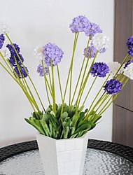 1 Филиал Пластик Светло-голубой Букеты на стол Искусственные Цветы 30*30*48