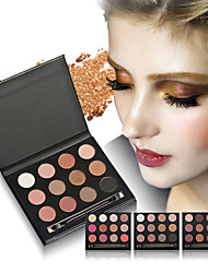 Eye Shadow Stock Clearance!Eye Makeup Cosmetic 15 Earth Color Matte Shimmer Pigment Eyeshadow Make Up Palette 12Color Optional