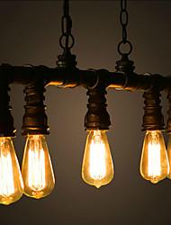 MAX 40W Lampe suspendue ,  Traditionnel/Classique / Vintage / Lanterne / Rustique / Rétro Peintures Fonctionnalité for Style mini Métal