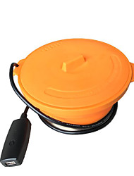 New Outdoor Folding Silicone Power Camping Boiler 1.4L