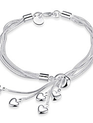 Chain Bracelet Charm Bracelet Strand Bracelet Love Friendship Fashion Vintage Bohemian Punk Hip-Hop Rock Turkish Costume Jewelry Copper