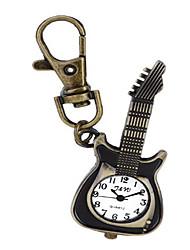 Relógio de Bolso Quartzo Lega Banda Casual Preta Marrom Preto