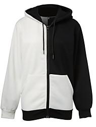 Inspired by Dangan Ronpa Monokuma Video Game Cosplay Costumes Cosplay Hoodies Patchwork Black Long Sleeve Coat
