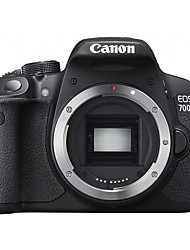 Canon® EOS 700D Digital Camera Built-in Flash Tiltable LCD Black 3.0 EF-S 18-135mm f/3.5-5.6 IS STM and EF 50mmf/1.4 USM