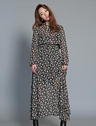 Corée du Sud a conduit la taille du faisceau stylenanda même paragraphe était mince robe imprimée