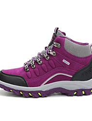 Mountaineer Shoes Unisex Anti-Slip Wearproof Comfortable Outdoor High-Top Leatherette