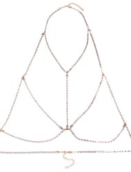 Women's Body Jewelry Body Chain Natural Fashion Gem Alloy Geometric Jewelry For Special Occasion Anniversary Casual