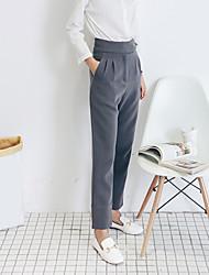 Signer neuf combinaisons de pantalon gris enfumé
