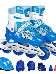 Kinder Inline-Skates Blau/Schwarz/Rosa