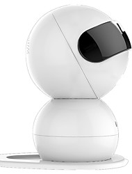 Lenovo Snowman 720P 1.0 MP Mini Indoor with Day Night PTZ Baby Monitor