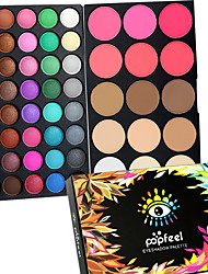 55 Color 2in1 Pro Eye Shadow Eyeshadow&Blush Contour Palette Dry Matte&Glitter Smoky&Colorful Eyeshadow Powder Daily Party Makeup Cosmetic Palette Set