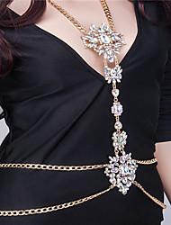 Women's Body Jewelry Body Chain Fashion Rhinestone Alloy Irregular Jewelry For Party Special Occasion Halloween Casual 1pc