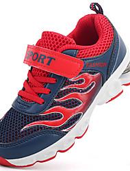 Calçados esportivos para meninos primavera verão confortáveis solas tulle outdoor athletic hook&Loop running