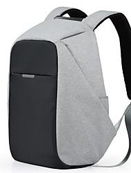 multifuncionais mochilas negócios laptop backpack17 polegadas ocasional viagem de poliéster sacos impermeáveis