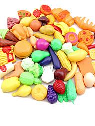 Los alimentos de juguete Juguetes Juguetes creativos Plástico Unisex