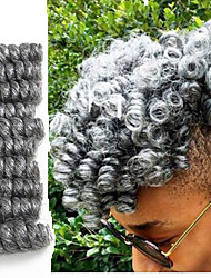 Synthetic braiding hair curlkalon Crochet Braid 10inch Curlkalon Saniya Curl Kinky twisted braids Jamaican Bounce hair 20roots/pack 5packs make head