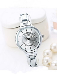 Women's Fashion Watch Japanese Quartz Water Resistant / Water Proof Alloy Band Cool Casual Silver