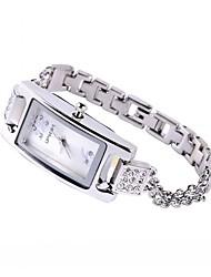 Women's Bracelet Watch Quartz Alloy Band White