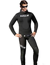 HISEA® Men's 5mm Wetsuit Pants Full Wetsuit Wetsuit Top Waterproof Thermal / Warm Anti-Eradiation Yamamoto Diving Suit Tights Diving Suits