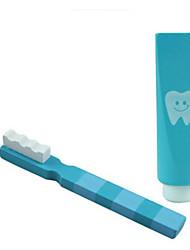 Brinquedos de Faz de Conta Kit Faça Você Mesmo Quadrangular Plástico
